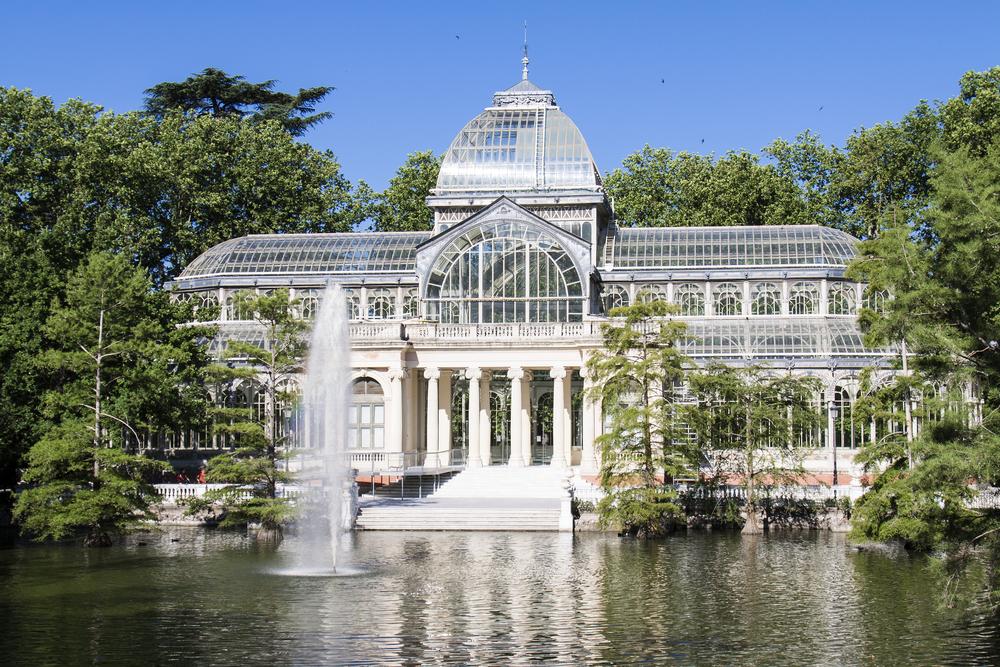 Un esempio di architettura moderna, il Palazzo di Cristallo