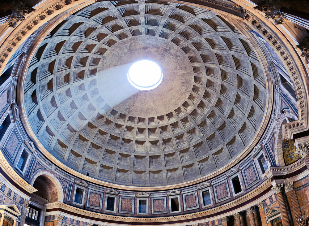 Roma, la cupola del Pantheon