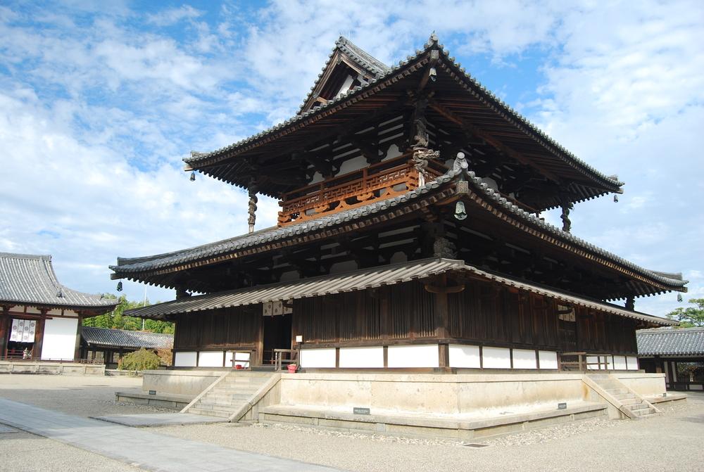 Un tempio in legno in Giappone, resiste dal 607 d.C.