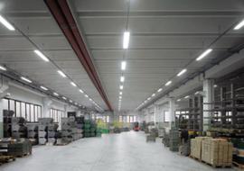 Tegoli TT e alari per autorimesse ed edifici commerciali