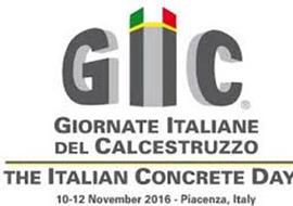 Giornata italiana del calcestruzzo e dei prefabbricati, Piacenza 10-12 novembre 2016