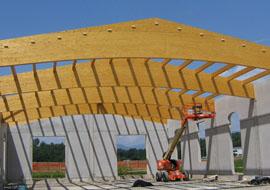Coperture in legno lamellare: la norma EN 14080:2013
