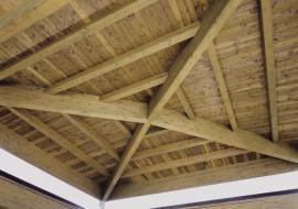 Recepimento EN 14080:2013 per coperture in legno lamellare