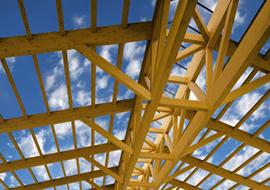 La determinazione delle azioni sollecitanti nella progettazione delle coperture in legno lamellare