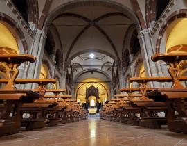 Volta a crociera, la Basilica di Sant'Ambrogio